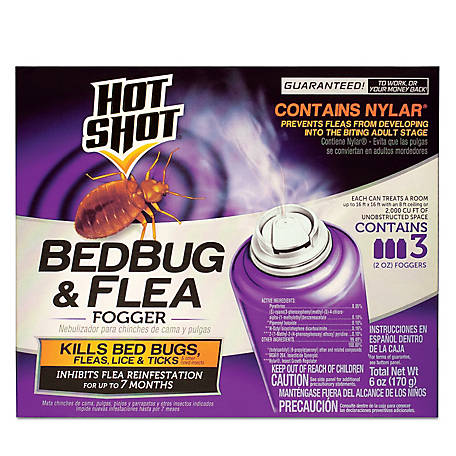 Black Flag Bedbug & Flea Fogger, 3/2 oz., HG-95911