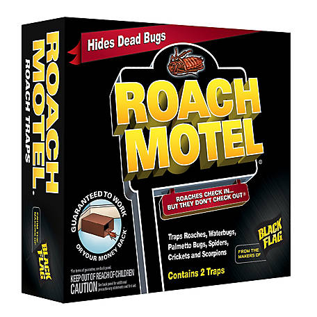 Black Flag Roach Motel, Roach Trap, 2 ct., HG-11020, HG-11020