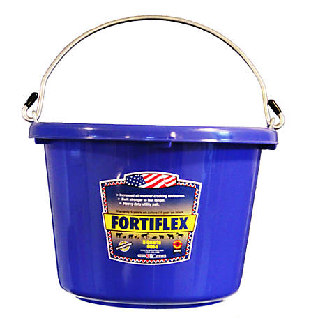 Fortiflex Multi-Purpose Bucket, 8 qt. Capacity