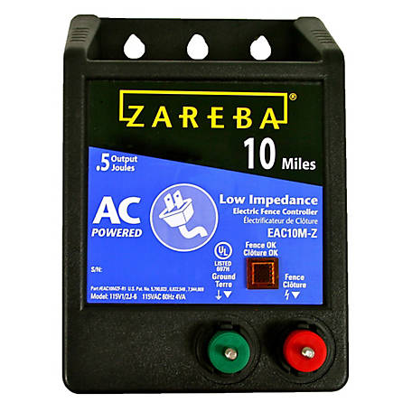 Zareba 10 Mile Battery Powered Solid State Fence
