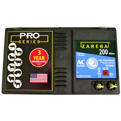 Buy Zareba 200 Mile AC Low Impedance Fence Charger Online