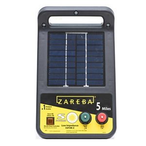 Zareba 5 Mile Solar Fence Charger At Tractor Supply Co