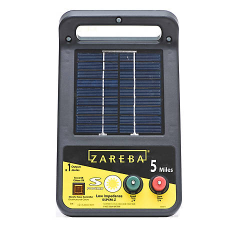 Zareba 5 Mile Solar Fence Charger Esp5m Z At Tractor