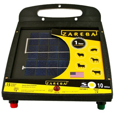 Buy Zareba 10 Mile Solar Low Impedance Fence Charger Online