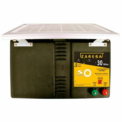 Buy Zareba 30 Mile Solar Low Impedance Fence Charger Online