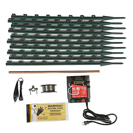 Zareba AC Garden Protector Electric Fence Kit, KGPAC-Z at Tractor Supply Co