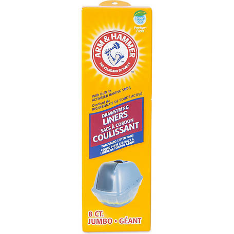 Arm & Hammer 8-Count Jumbo Drawstring Liners
