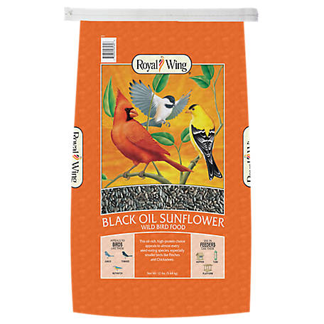 Royal Wing Black Oil Sunflower Seed, 12 lb.