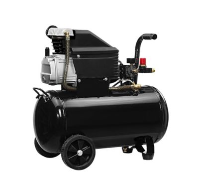 JobSmart 10 gal. Horizontal Tank Portable Oil-Lubricated Air Compressor