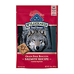 Blue Wilderness Trail Treats Salmon Biscuits Grain-Free Natural Crunchy Dog Treats