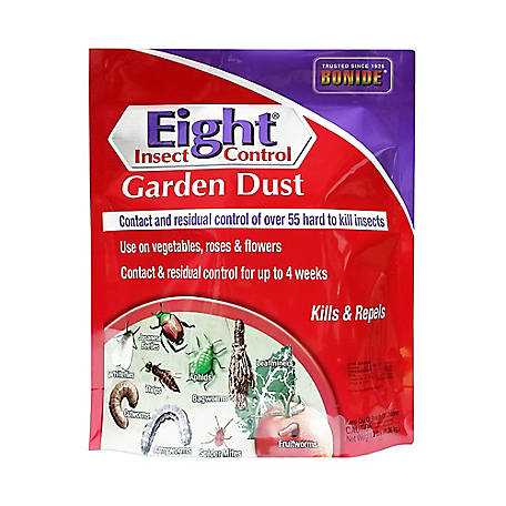 Bonide Eight Insect Control Garden Dust, 3 lb., 786