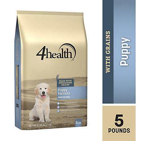4health Original Puppy Formula Dog Food, 5 lb. Bag
