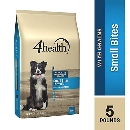 4health Original Small Bites Formula Adult Dog Food, 5 lb. Bag