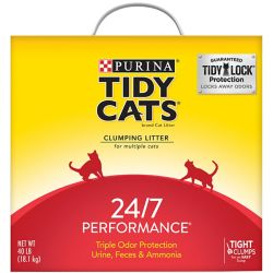 Shop 40 lb. Tidy Cats Scoopable 24/7 Performance Cat Litter at Tractor Supply Co.