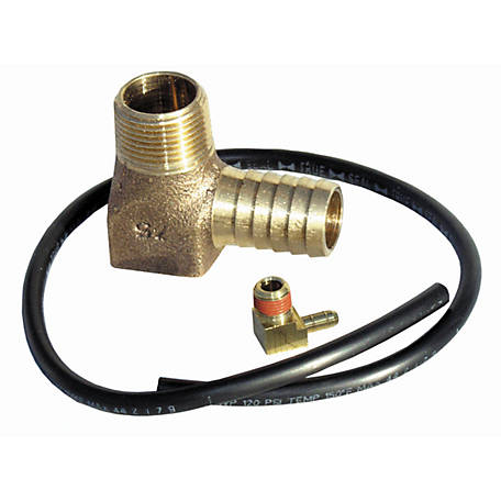 Water Source Hydrant Drain Tube Kit with Elbow