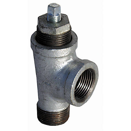 Water Source Discharge Priming Tee, 1 in.