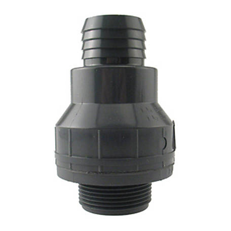 Water Source Plastic Sump Check Valve, 1-1/2 in.