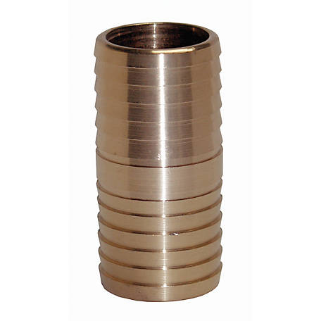 Water Source Brass Insert Coupling, 1 in.