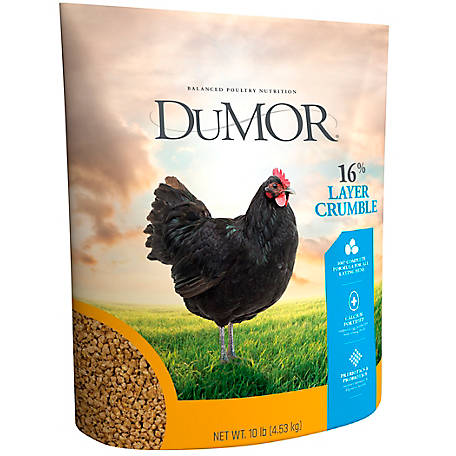 DuMOR Layer Crumble 16%, 10 lb.