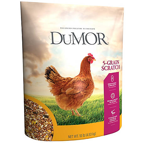 DuMOR Scratch Grains, 10 lb.