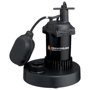 Countyline Thermoplastic Submersible Sump Pump With