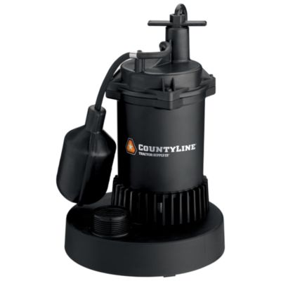 Water pumps at tractor supply co countyline thermoplastic submersible sump pump with tethered switch 13 hp ccuart Gallery