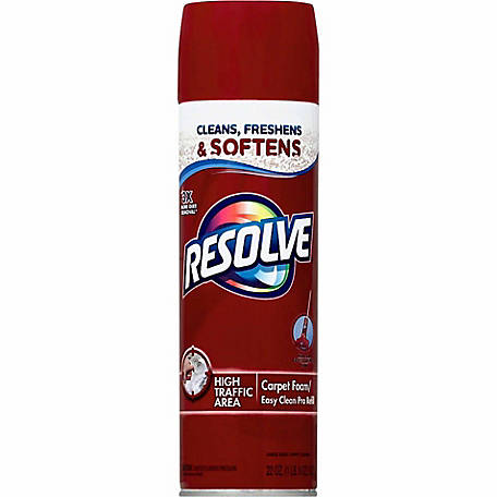 Resolve High Traffic Carpet Cleaner Foam, 22 oz.