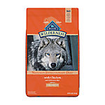 Blue Buffalo Wilderness Chicken Recipe Dog Food For Large Breed Adult Dogs, 24 lb. Bag