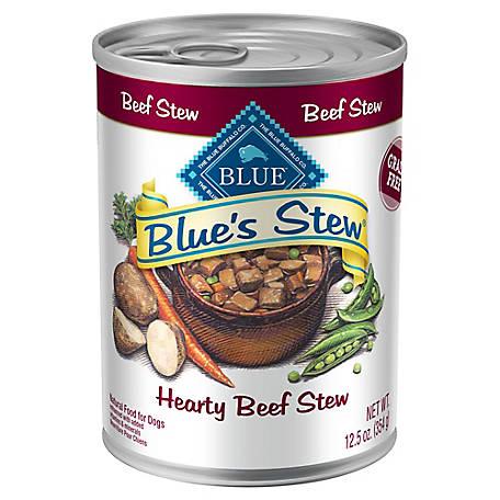 Blue Buffalo BLUE's Stew Adult Hearty Beef Stew Wet Dog Food, 12.5 oz.