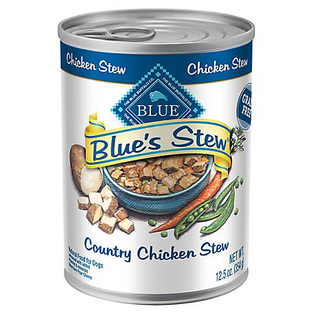 Blue Buffalo Blue's Stew Country Chicken Stew Wet Dog Food, 12.5 oz. Can