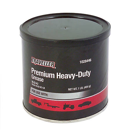 Traveller Premium Heavy-Duty Lithium Complex NLGI #2 Grease, 1 lb. Tub