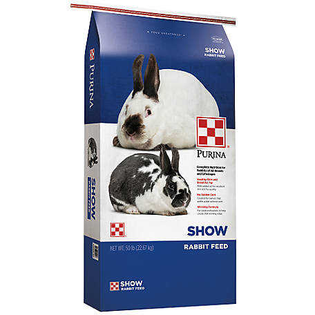 Purina Show Rabbit Feed, 50 lb., 3004918-206