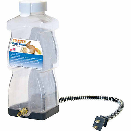 Farm Innovators Heated Water Bottle for Rabbits