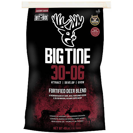 Big Tine 30-06 Fortified Deer Blend with BT-90, DB40A
