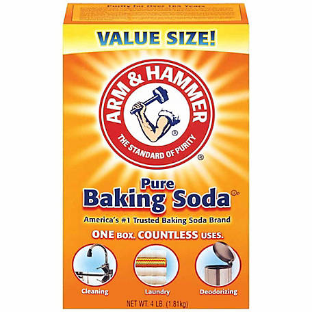 Arm & Hammer Baking Soda, 4 lb. Box, 7888233
