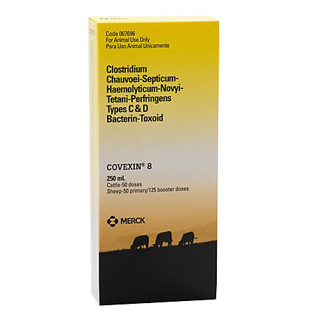Merck Animal Health Covexin 8, 50 Doses, 4795