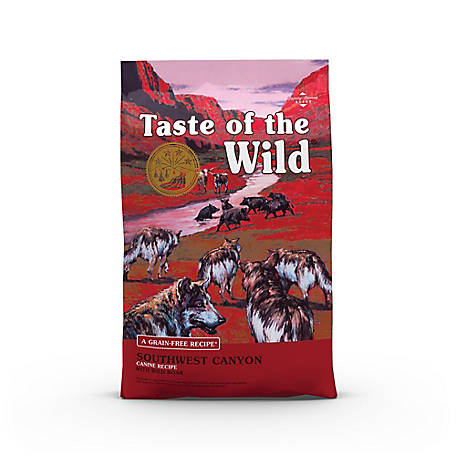 Taste of the Wild Southwest Canyon Canine Formula with Wild Boar Dog Food, 5 lb. Bag