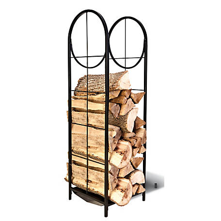 RedStone Indoor Log Holder w/ Debris Tray