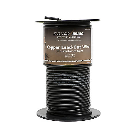 ElectroBraid High Voltage Insulated Copper Lead Out Wire
