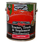 Majic Tractor, Truck & Implement Oil Base Enamel, Ford Red/Safety Red, 1 gal.