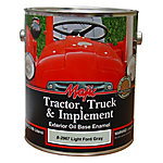 Majic Tractor, Truck & Implement Oil Base Enamel, Light Ford Gray, 1 gal.