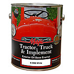 Majic Tractor, Truck & Implement Enamel, Gloss White, 1 gal.