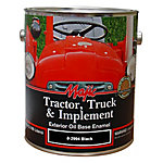 Majic Tractor, Truck & Implement Oil Base Enamel, Gloss Black, 1 gal.