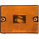 Blazer Rectangular Side Marker Light, Amber