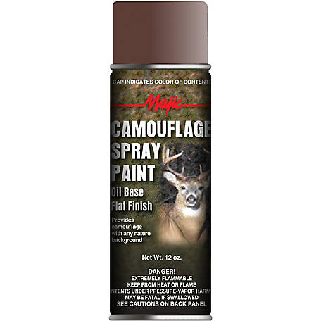Majic Camouflage Paint, Earth Brown, Spray