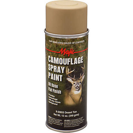 Majic Camouflage Paint, Desert Tan, Spray