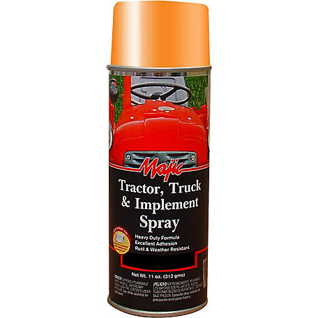 Majic Tractor, Truck & Implement Enamel, AC Orange, Spray