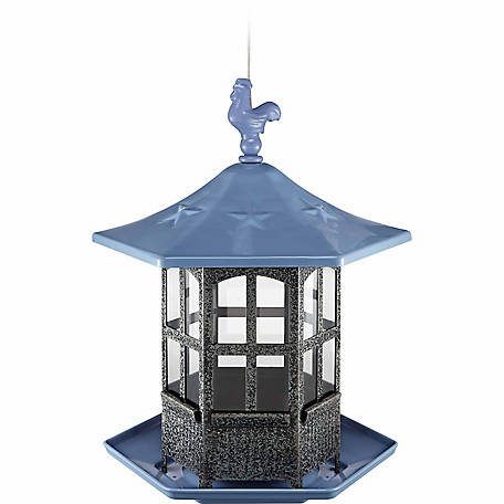 Royal Wing Rooster Gazebo Bird Feeder