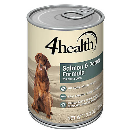 4health Original Salmon & Potato Dinner Dog Food, 13.2 oz. Can