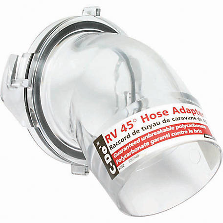 Camco C Do 2 Clear 45 Deg Hose Adapter At Tractor Supply Co